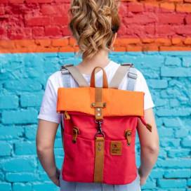 Рюкзак скрутка Ginger Bird