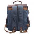 Винтер Пак с боковыми карманами синий