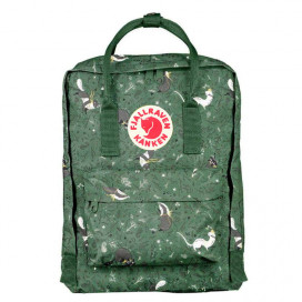 Fjallraven CLASSIC ART ARCTIC FOX GREEN FABLE