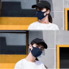 Набор масок защитных для лица 3-х слойных (микс цветов)