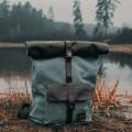 Рюкзак ASGARD РОЛЛ ТОП 5548 серо синий купить в Минске - цена, фото, описание