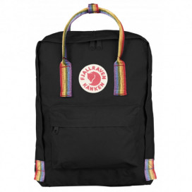 FJALLRAVEN CLASSIC RAINBOW BLACK PATTERN