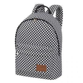 Женский рюкзак Asgard Р-5137П Клетка бело черная - цена, фото, описание, характеристики