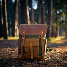 Рюкзак Outmaster Kraft ИРВИНГ коричневый - цена, фото, описание, характеристики