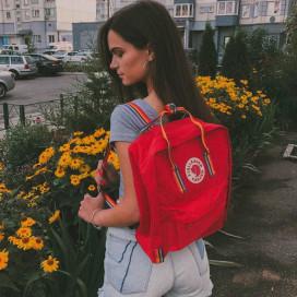 Fjallraven CLASSIC RAINBOW ORANGE RED купить в Минске и Беларуси