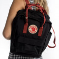 Fjallraven CLASSIC BLACK OX RED