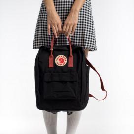 Fjallraven CLASSIC BLACK OX RED