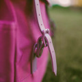 Рюкзак 8848 173-002-025 персиковый с фирменным пятачком на крышке