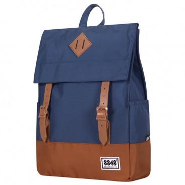 Рюкзак 8848 173-002-030 синий коричневый - цена, фото, описание