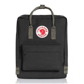 Рюкзак KANKEN FJALLRAVEN CLASSIC BLACK STRIPED - цена, фото, описание, характеристики