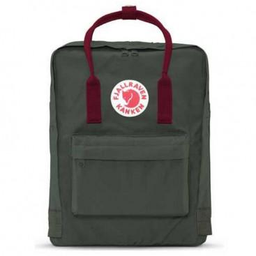 Рюкзак Fjallraven CLASSIC FOREST GREEN OX RED - цена, фото, описание, характеристики