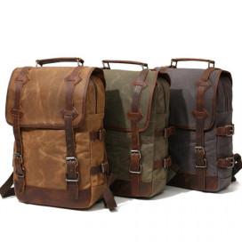 Крафтовый рюкзак Outmaster Kraft YUKON КОРИЧНЕВЫЙ - цена, фото, описание, характеристики