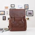 Рюкзак Three Box 3526-2 темно-коричневый из экокожи