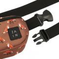 Сумка на пояс ZAIN 415 (лисы коричневые)