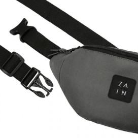 Сумка на пояс ZAIN 462 (т.серый)