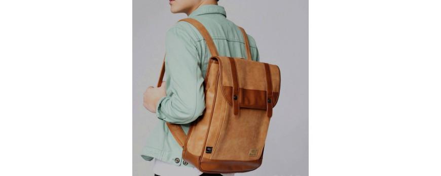 Сумка рюкзак из эко кожи