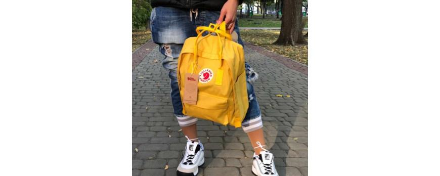 Рюкзак Fjallraven KANKEN CLASSIC желтый