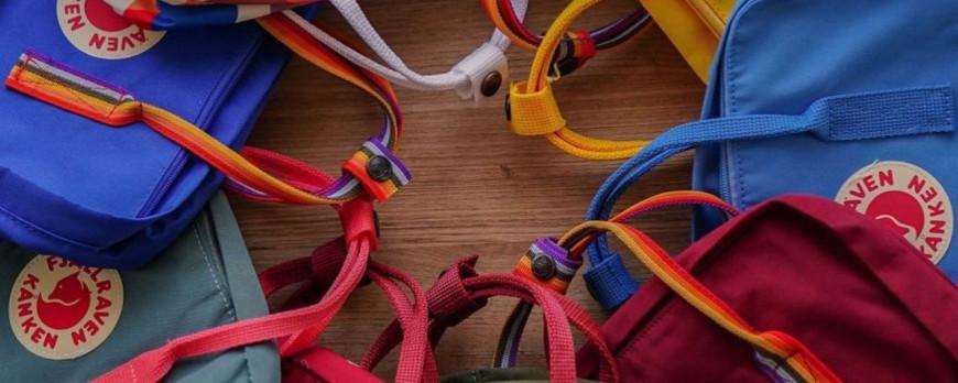 Новые расцветки рюкзаков Kanken
