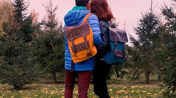 Крафтовые рюкзаки ASGARD из брезента