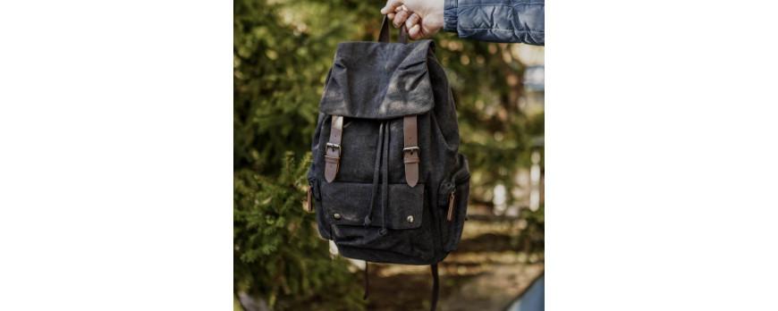 Крафтовые рюкзаки