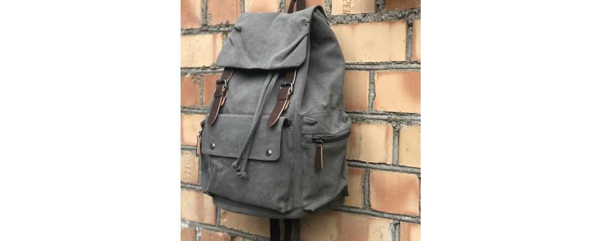 Крафтовый рюкзак EMIREX черный