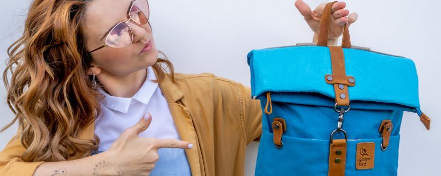 Рюкзак скрутка Ginger Bird! Новая летняя коллекция уже в магазине в Минске!