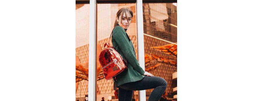 Новинка! Голографические женские  рюкзаки ASGARD! | Фирменные рюкзаки Минск