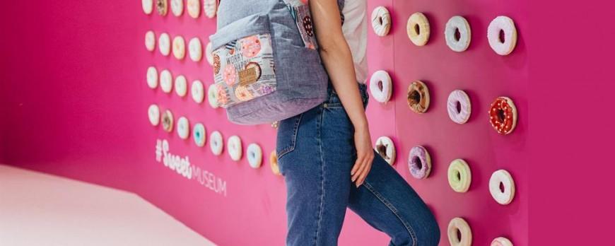 Модные женские рюкзаки.