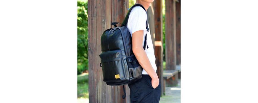 Рюкзаки THREE BOX из премиальной эко кожи